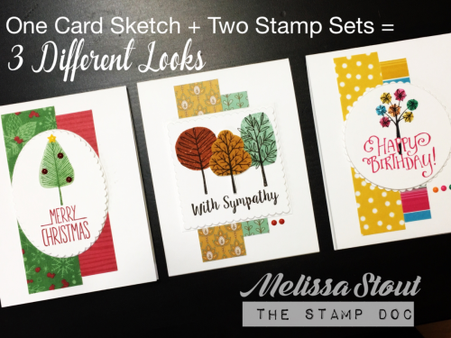 Stampin' UP! #TotallyTrees #BetterTogether
