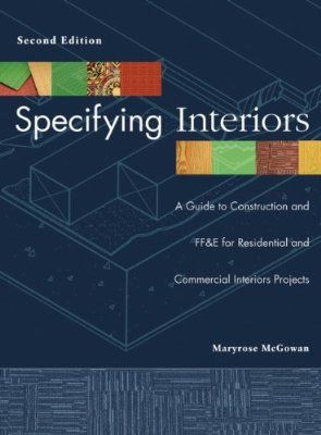 Specifying interiors  guide to construction and ff   for residential commercial projects also rh pinterest