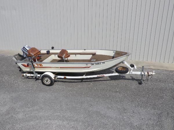 Used 1985 Bass Tracker Tracker V-16, Hunstville, Oh - 43324