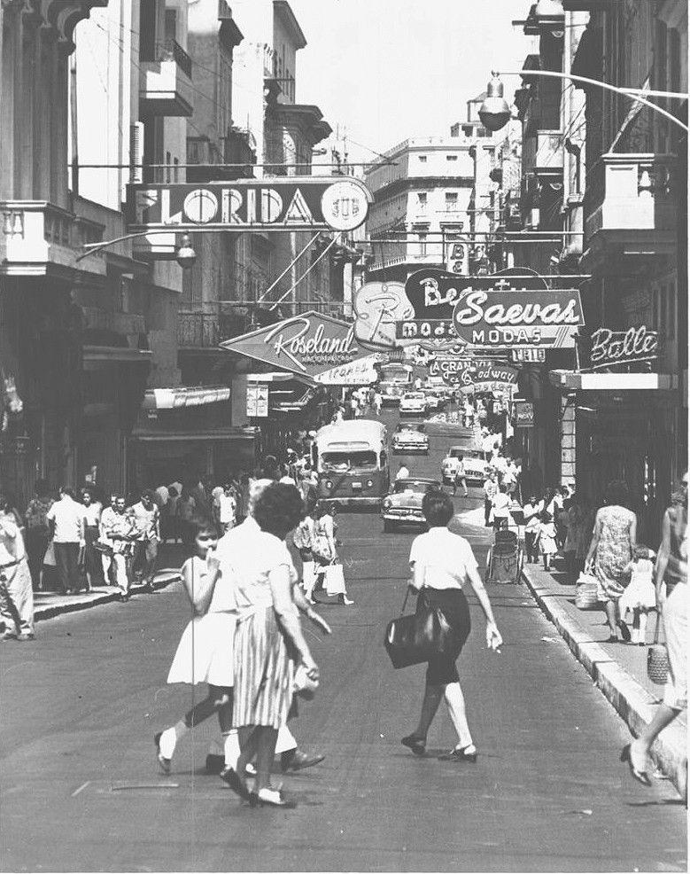 Calle neptuno mirando en direccion a prado en 1964 for Calle prado camacho 8
