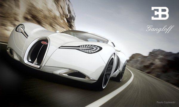 Bugatti Gangloff Konzept  Mouth Watering MotorsBugatti Heute möchten wir Ihnen ein fantastisches Konzeptauto zeigen das vom polnischen Designer Paweł Czyżewski entwo...