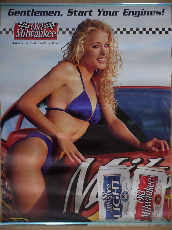 Bikini beer poster