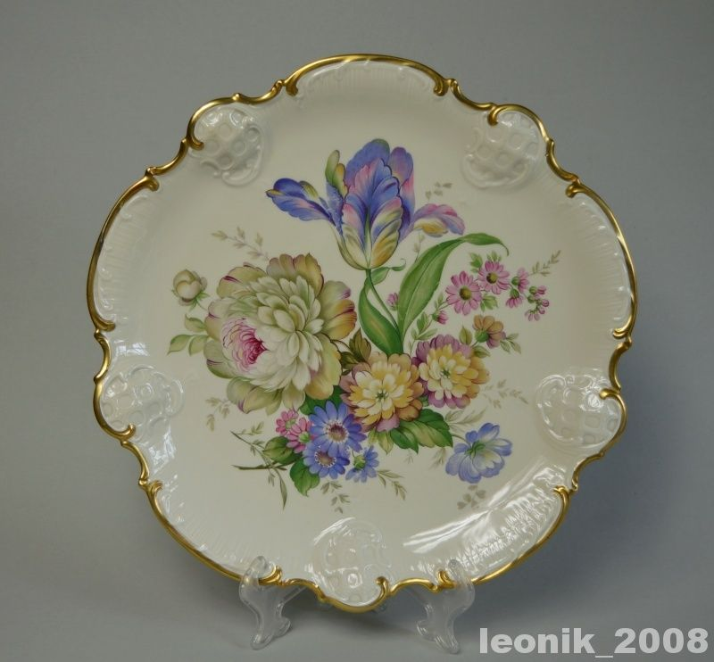 Rosenthal Moliere Millefleurs Wielka Patera 5733356596 Oficjalne Archiwum Allegro Antique Plates Porcelain Art Vintage Porcelain
