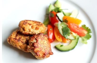 Easy peasy recipe for zingy Thai fish cakes