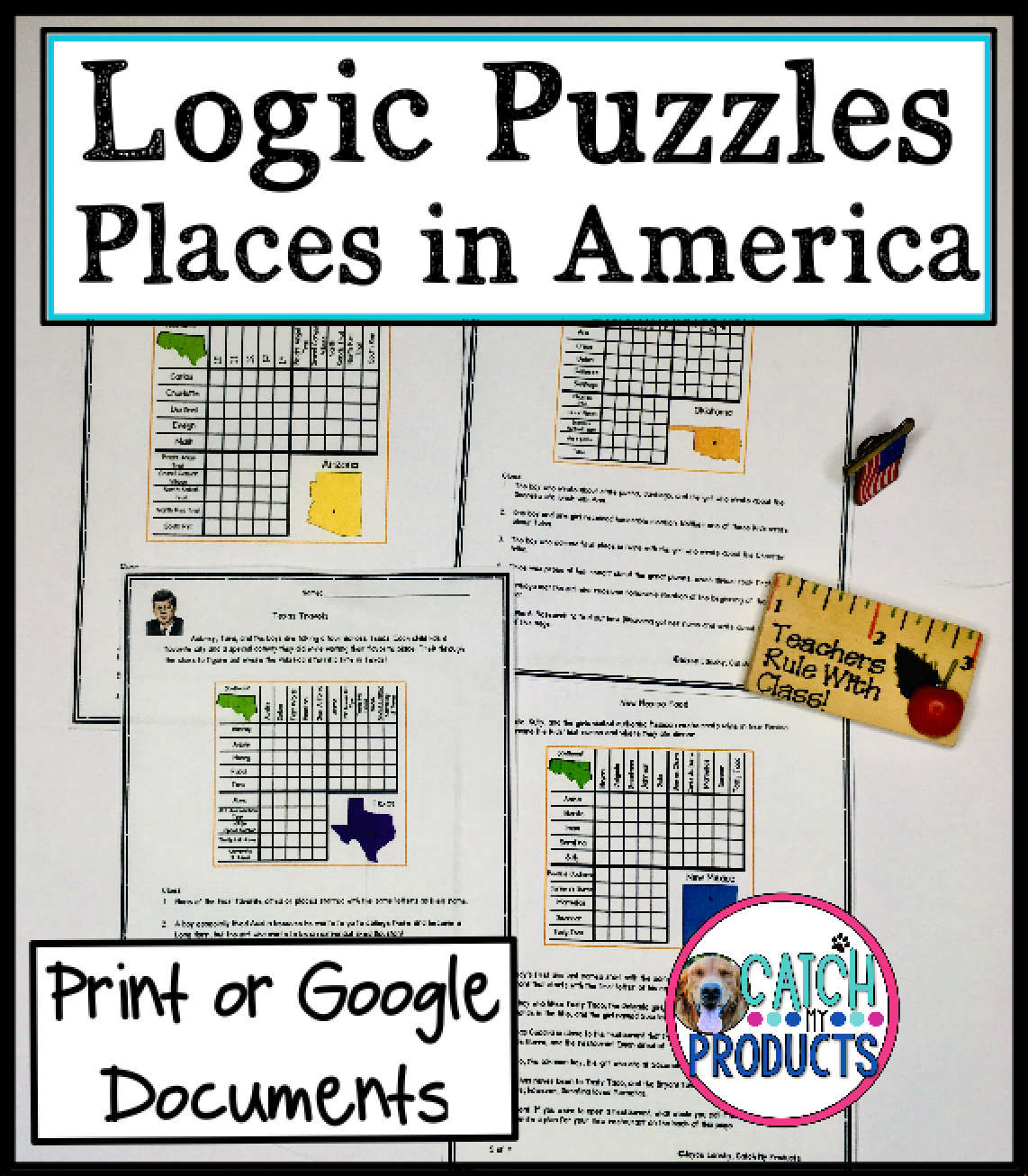 Logic Puzzles With Answers For Kids In