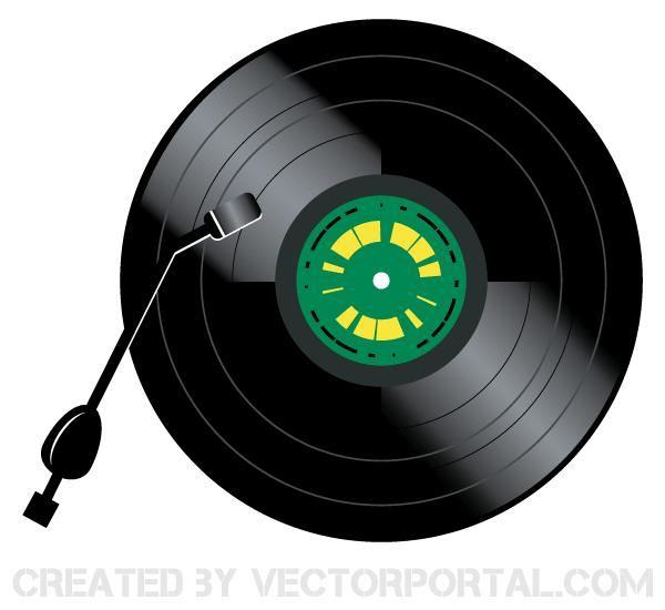 Vintage Vinyl Record Player Vector Image Vintage Vinyl Record Player Vinyl Record Player Vintage Vinyl Records