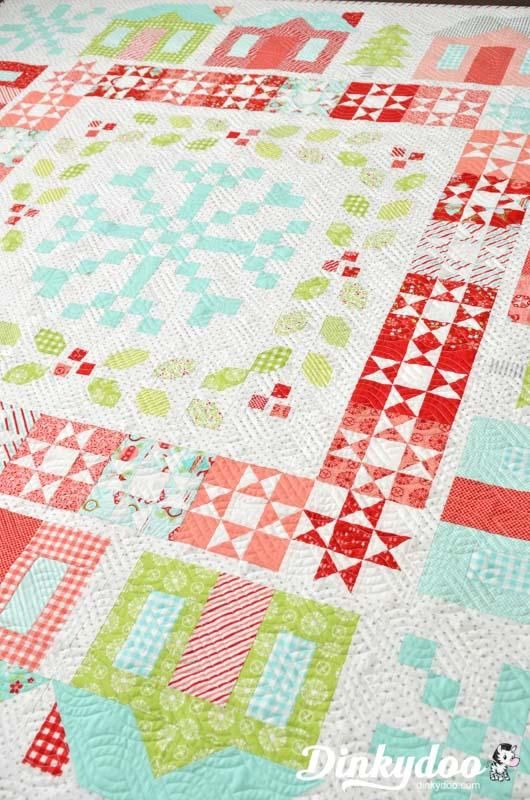 Winterville - Quilt Pattern - Thimble Blossoms (Pre-order: Feb ... : quilt materials - Adamdwight.com