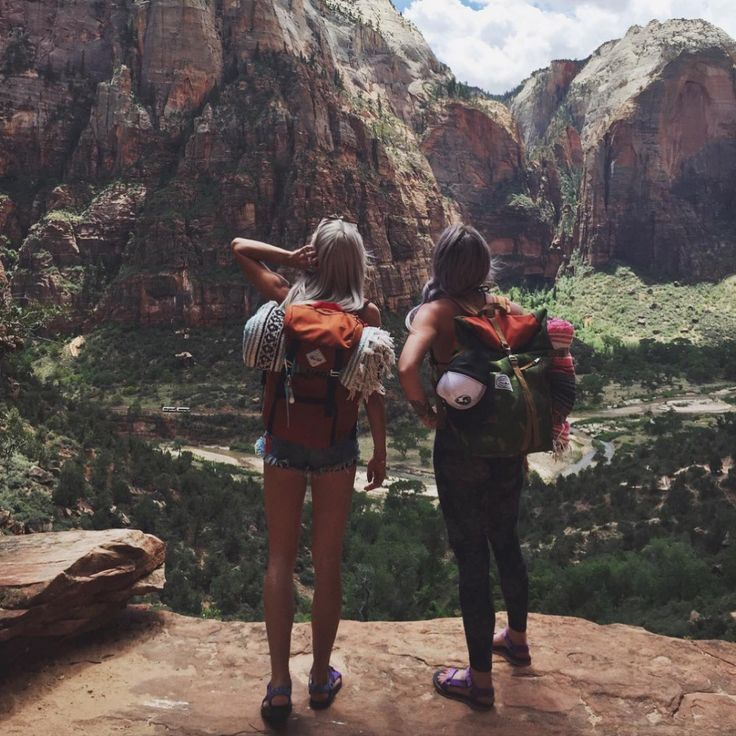 Hiking buddies are essential for pep talks, photo ops, and ...