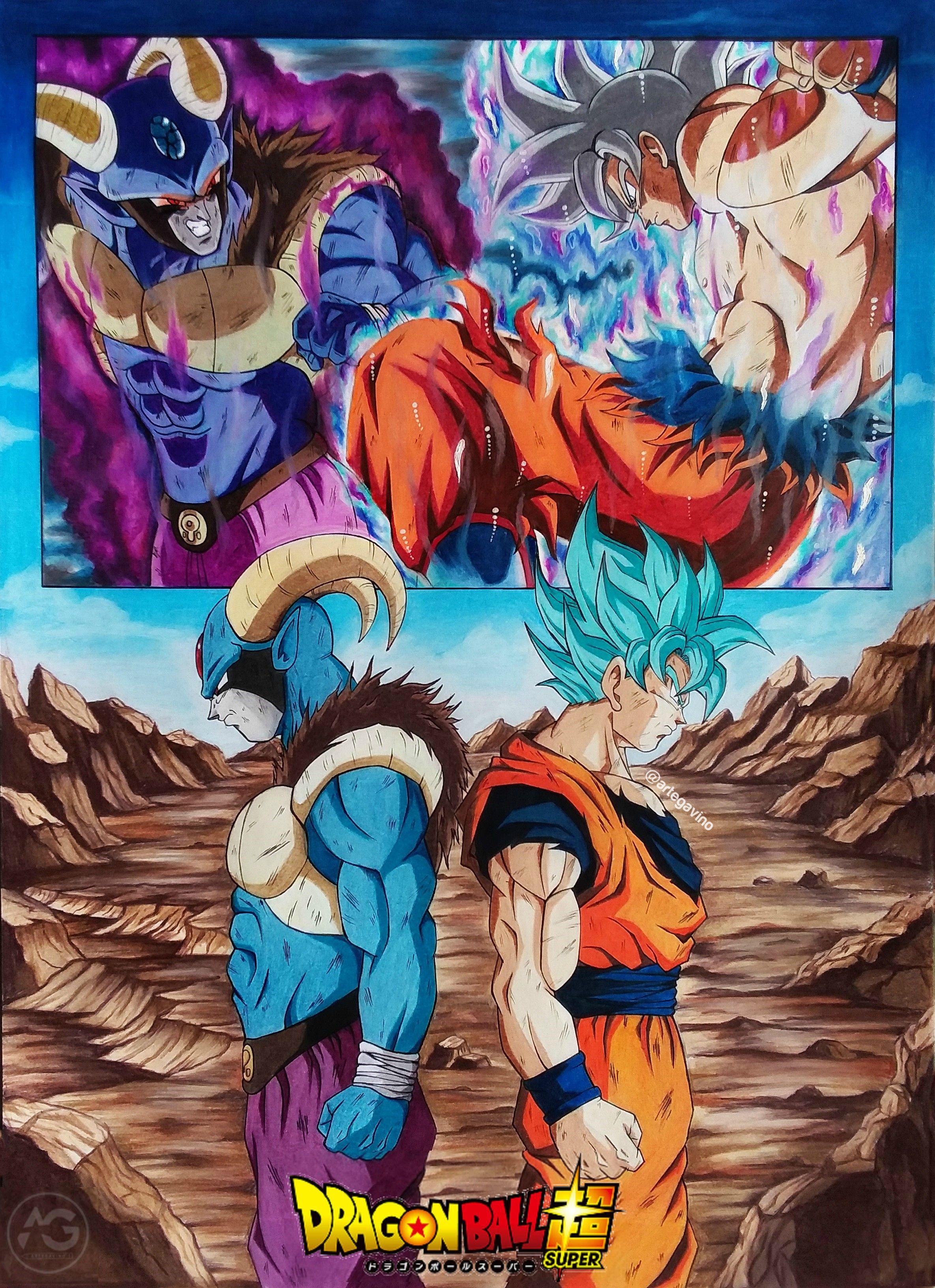 Goku Vs Moro Dragon Ball Super Artwork Dragon Ball Artwork Dragon Ball Art