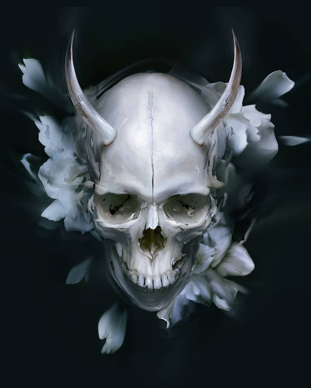 wallpaper wallpaper_engine fantasy fantasy_art Skull