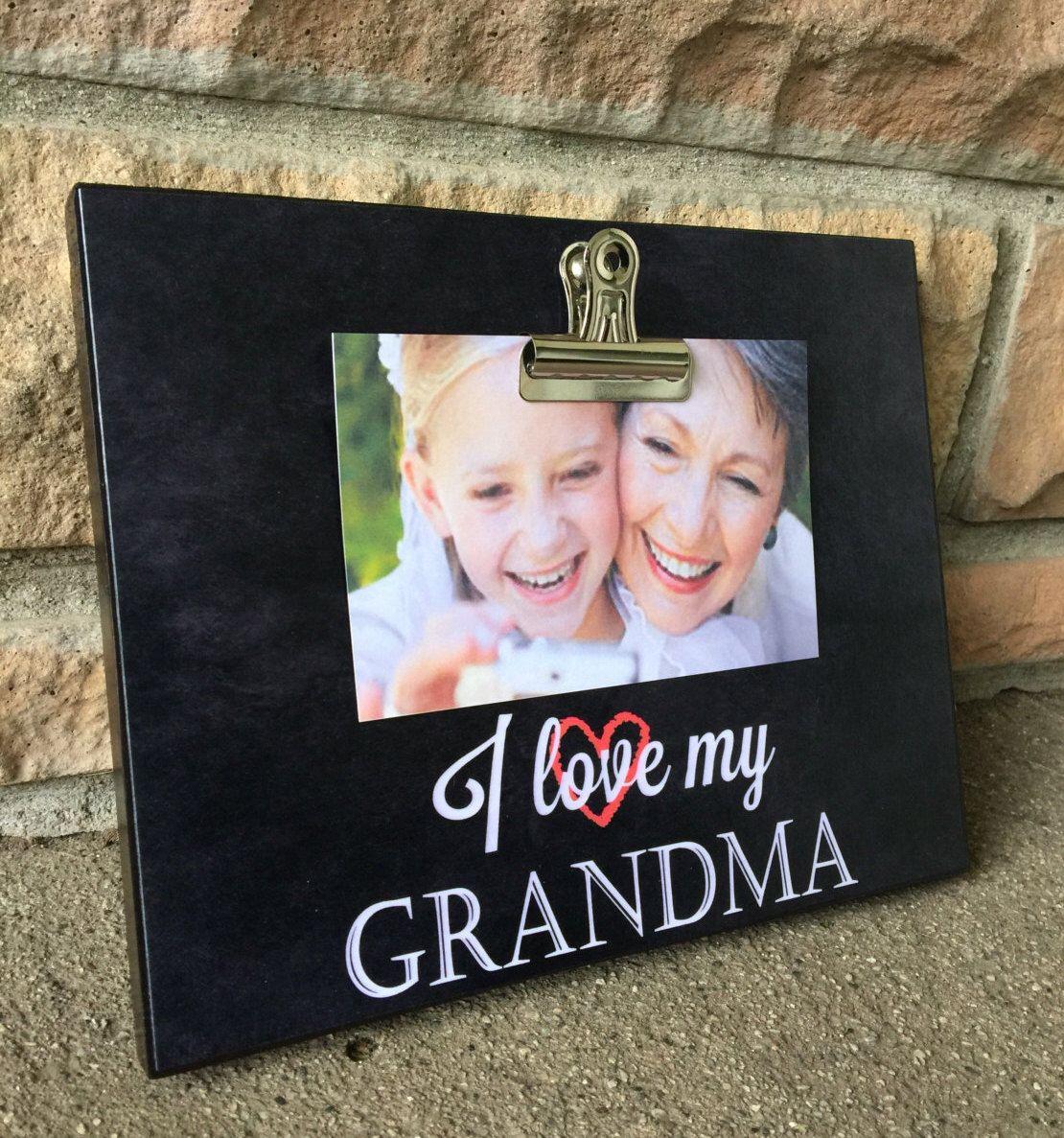 Grandparents Picture Frame Gift, Gift For Grandma, Grandparents Gift ...