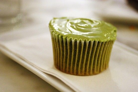 Green tea recipe - green tea cupcakes!
