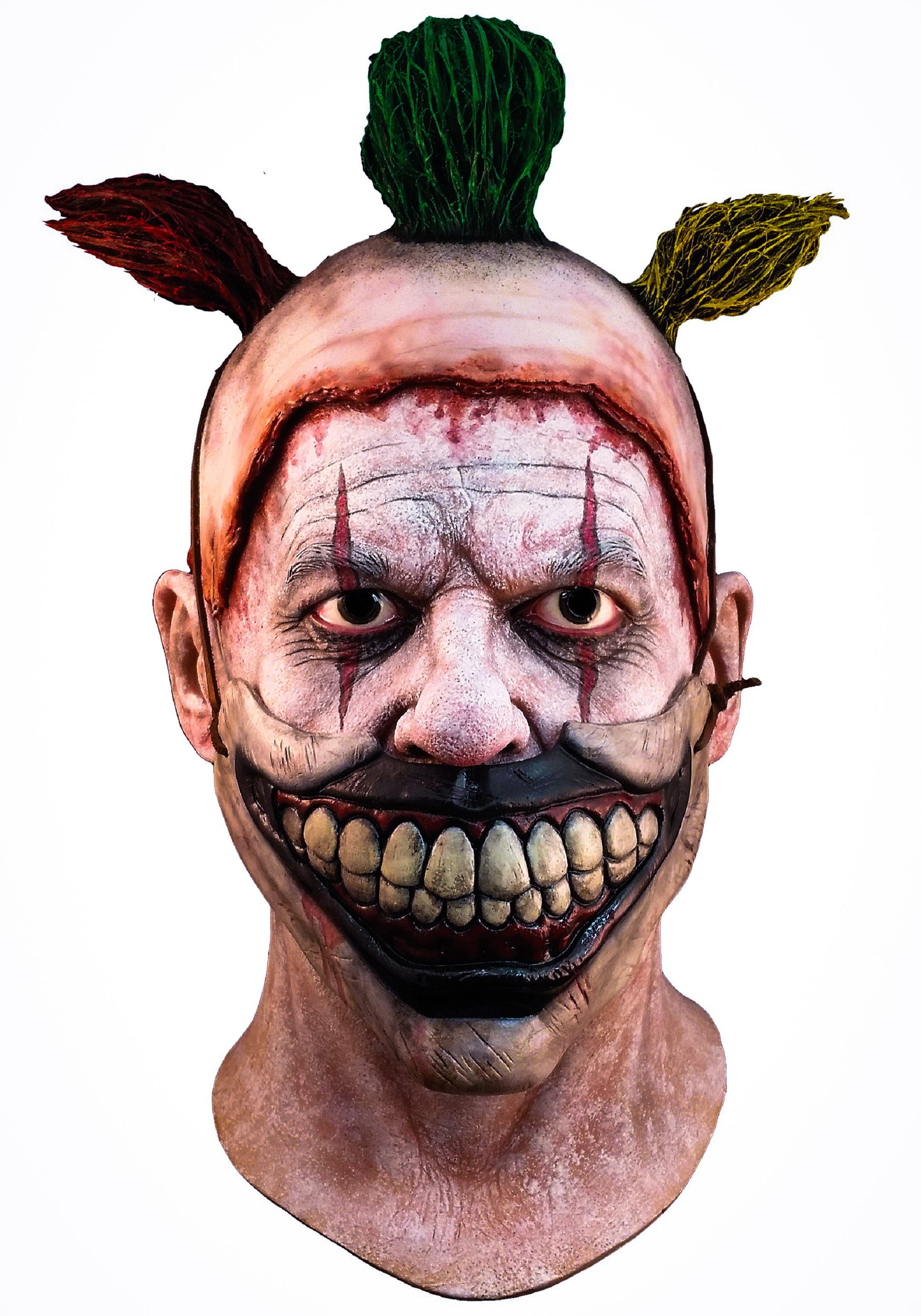 American Horror Story Twisty the Clown mask with removable ...