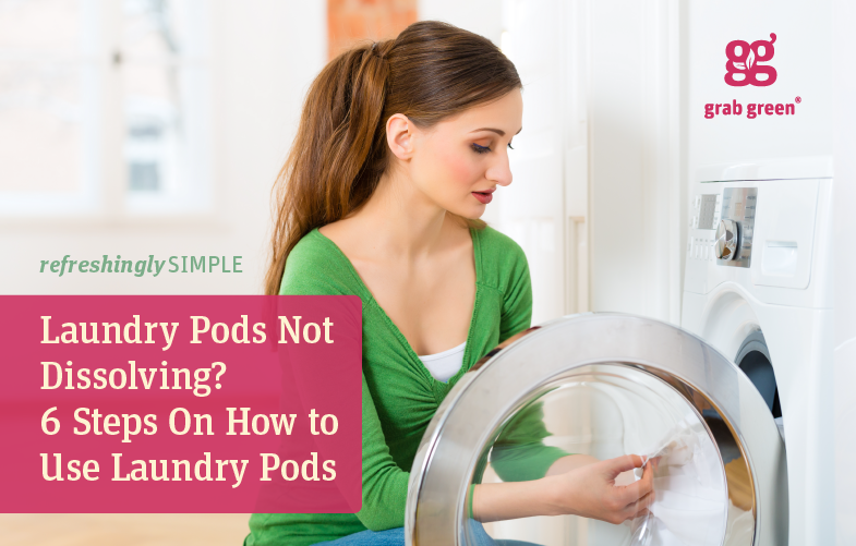 Laundry Pods Not Dissolving 6 Steps On How To Use Laundry Pods