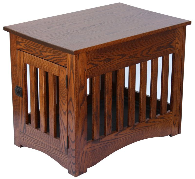 Mission Dog Crate End Table Ohio Hardwood Furniture Things for