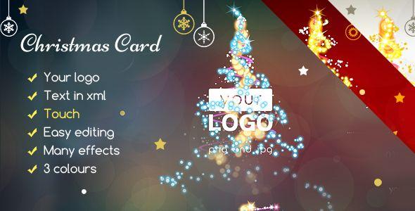 Christmas Card Magic Lights -   codeholdernet/item/html5