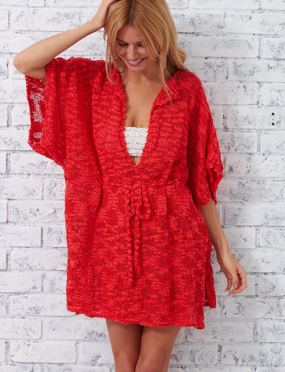 Yarnspirations.com - Patons Beach Cover-Up - Patterns ...