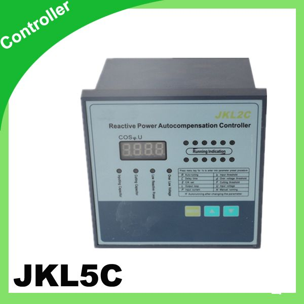 10step 380v Prcf Jkl5c Power Factor Regulator Compensation Controller For Power Factor Capacitor Cool Things To Buy Capacitor Power