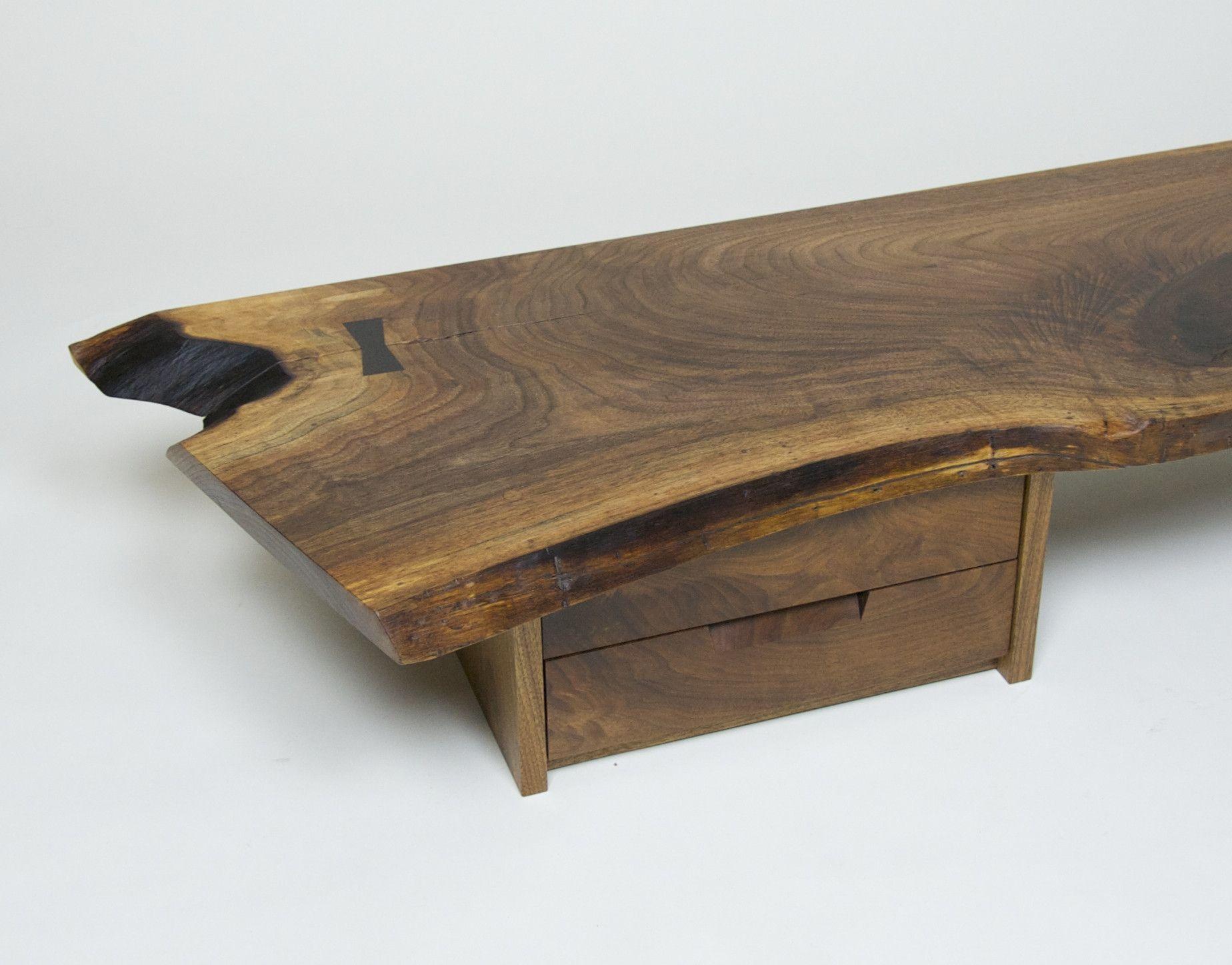 Rare George Nakashima Portsmouth Table by George Nakashima
