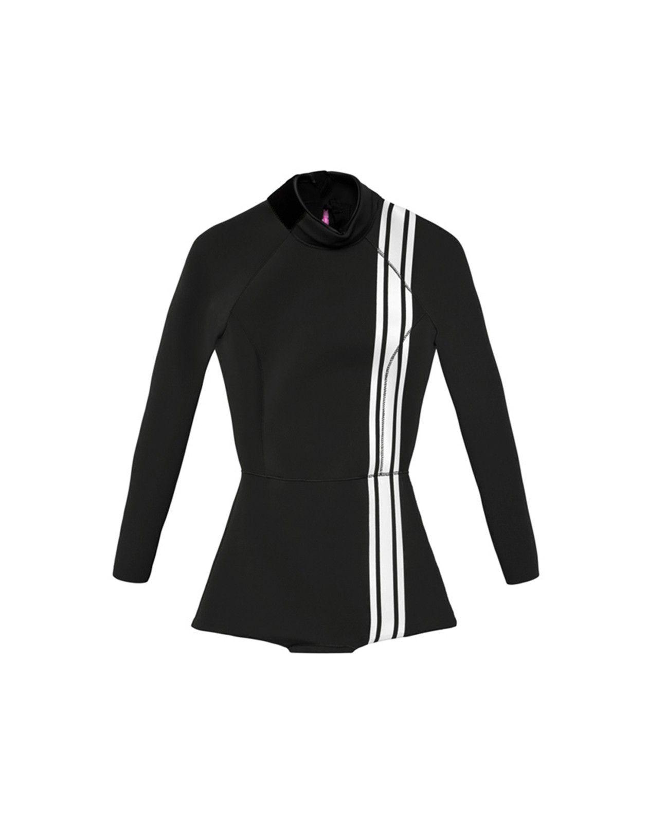 Cynthia Rowley - Athletic Stripe Wetsuit