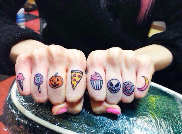 20 Delicados tatuajes para dedicarle tu amor eterno a la pizza