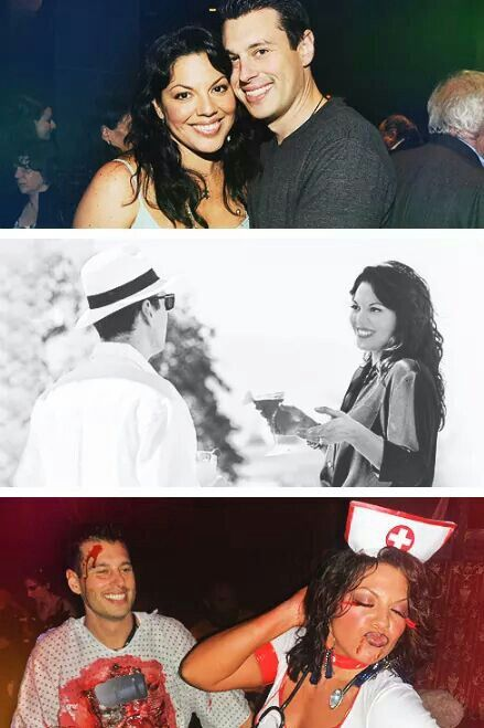 Sara Ramirez (Callie Torres) & her husband Ryan Debolt ...