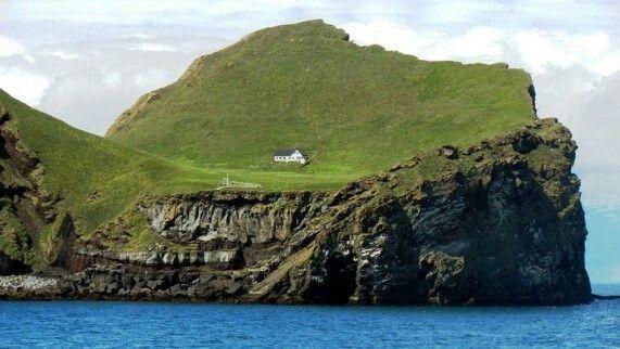 Ellidaey island, iceland | small farmer witch | House ...