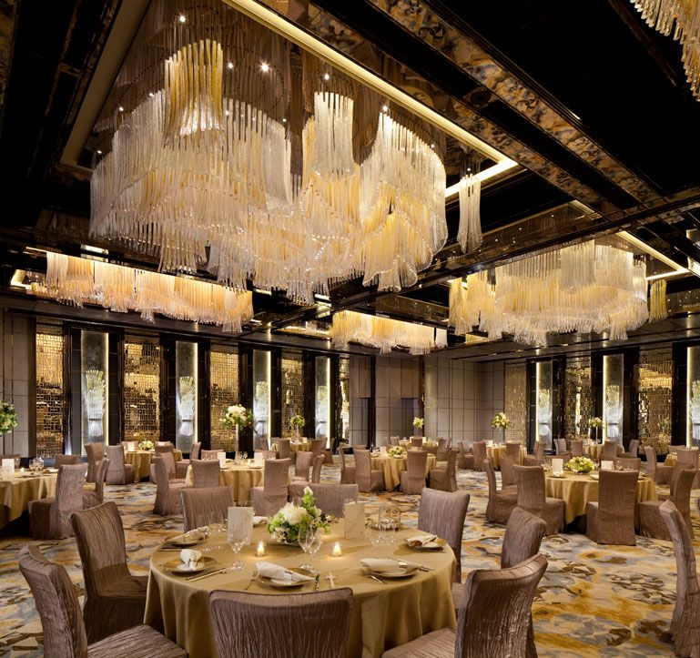 Design For Ballroom Wedding Banquet At The Ritz Carlton Hong Kong