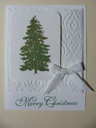 Christmas In July Card Class Christmas Tree Cards Christmas Cards Christmas In July