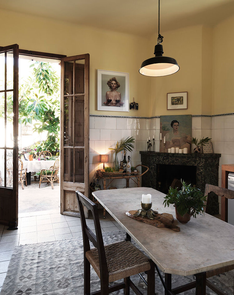 Photo of The Bohemian Home of Dusty Deco Founders on Mallorca — THE N