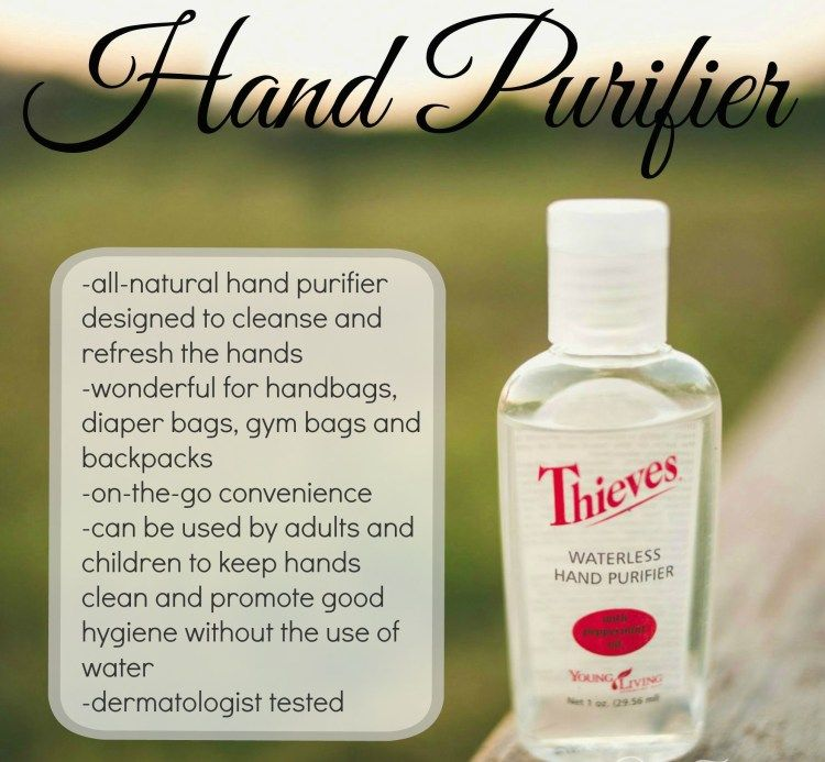 In Case You Run Out Of Your Thieves Hand Purification Gel Here S