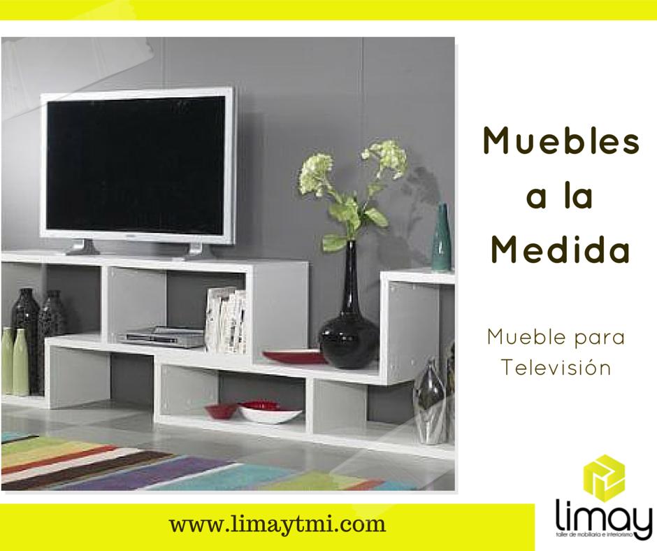 Uno de los muebles a la medida m s solicitados es el for Muebles para televisiones planas