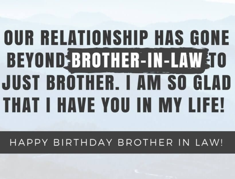 Funny Brother In Law Quotes Birthday Wishes Birthday Wishes