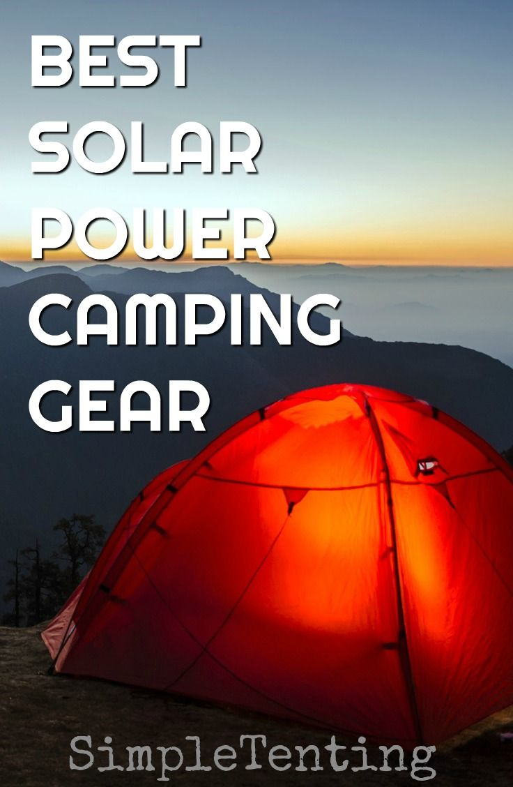Photo of Camping Gear is important, having solar power camping gear is even more importan…