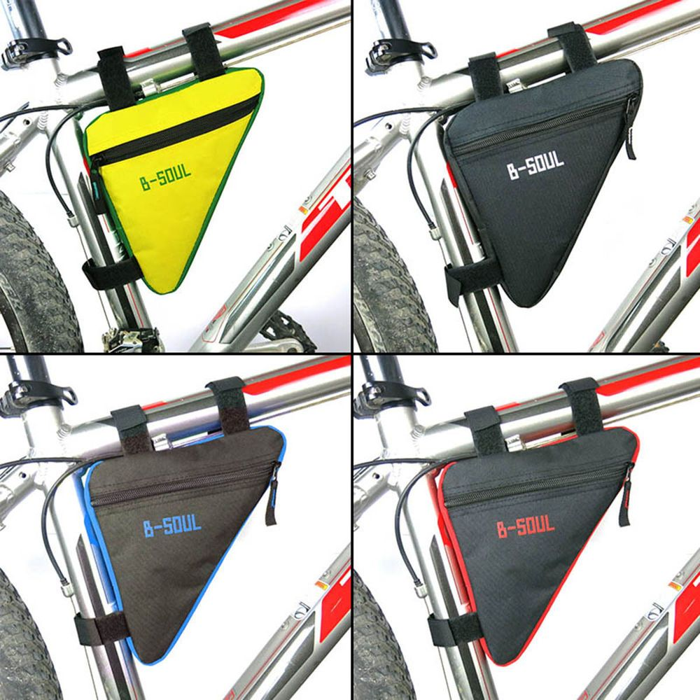 Cycling Bicycle Bag Front Triangle Frame Top Tube Triangle Pouch For MTB Popular