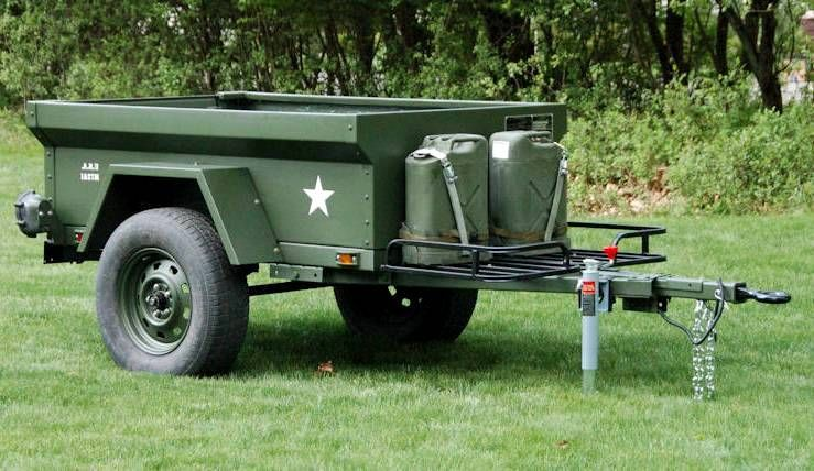 M416 Trailer Tub Kit By Dinoot Trailers Specs Truck Bed Trailer