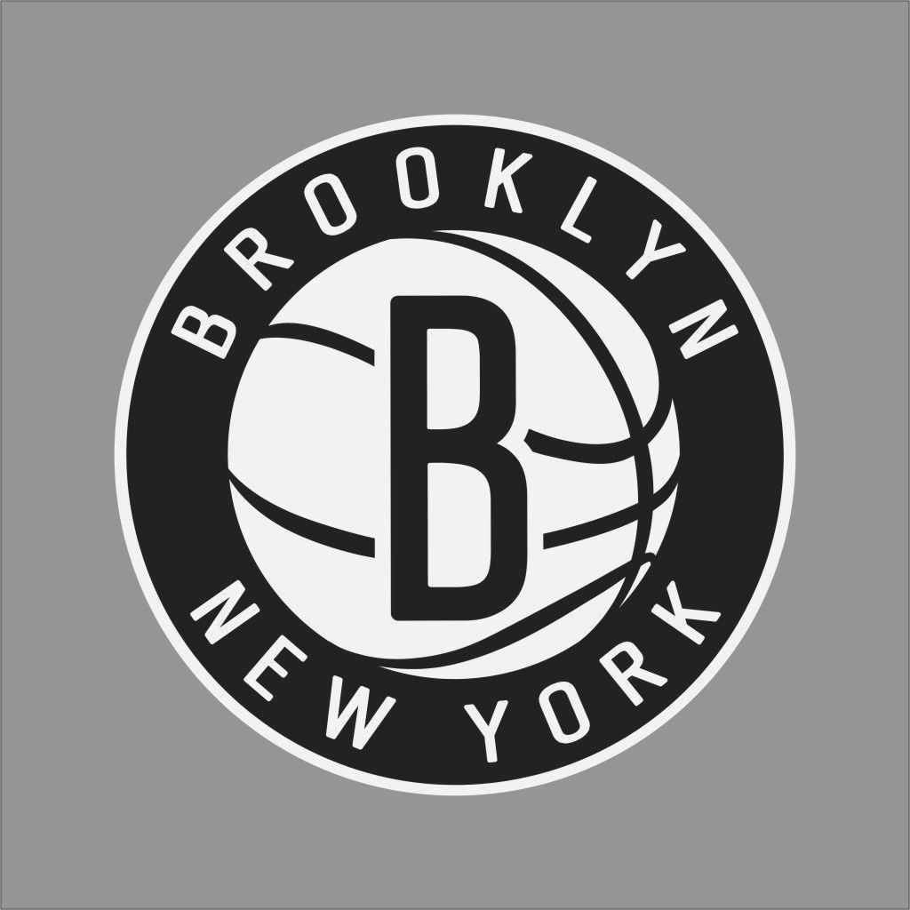 brooklyn nets 2 nba team logo vinyl decal sticker car on wall logo decal id=24841