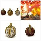 Thanksgiving Decorative Artificial Fall Pumpkins Tabletop Centerpiece 3 Pack Har…