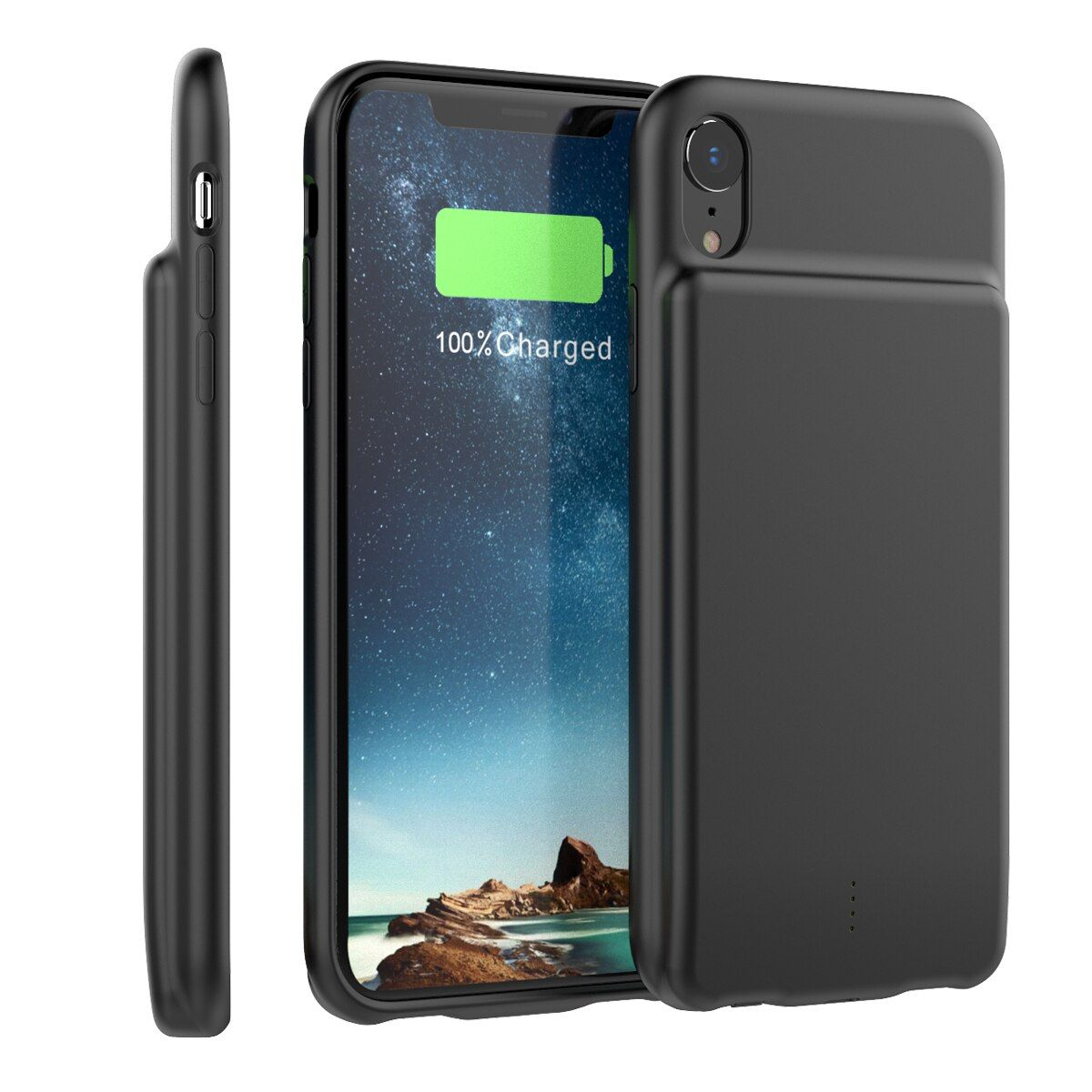 External 5000mah battery charger case for iphone xr with