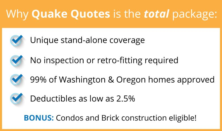 Your Go To Source For Washington Oregon Earthquake Insurance