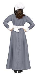 Grey Pilgrim Girl Child Costume - 373771   trendyhalloween.com