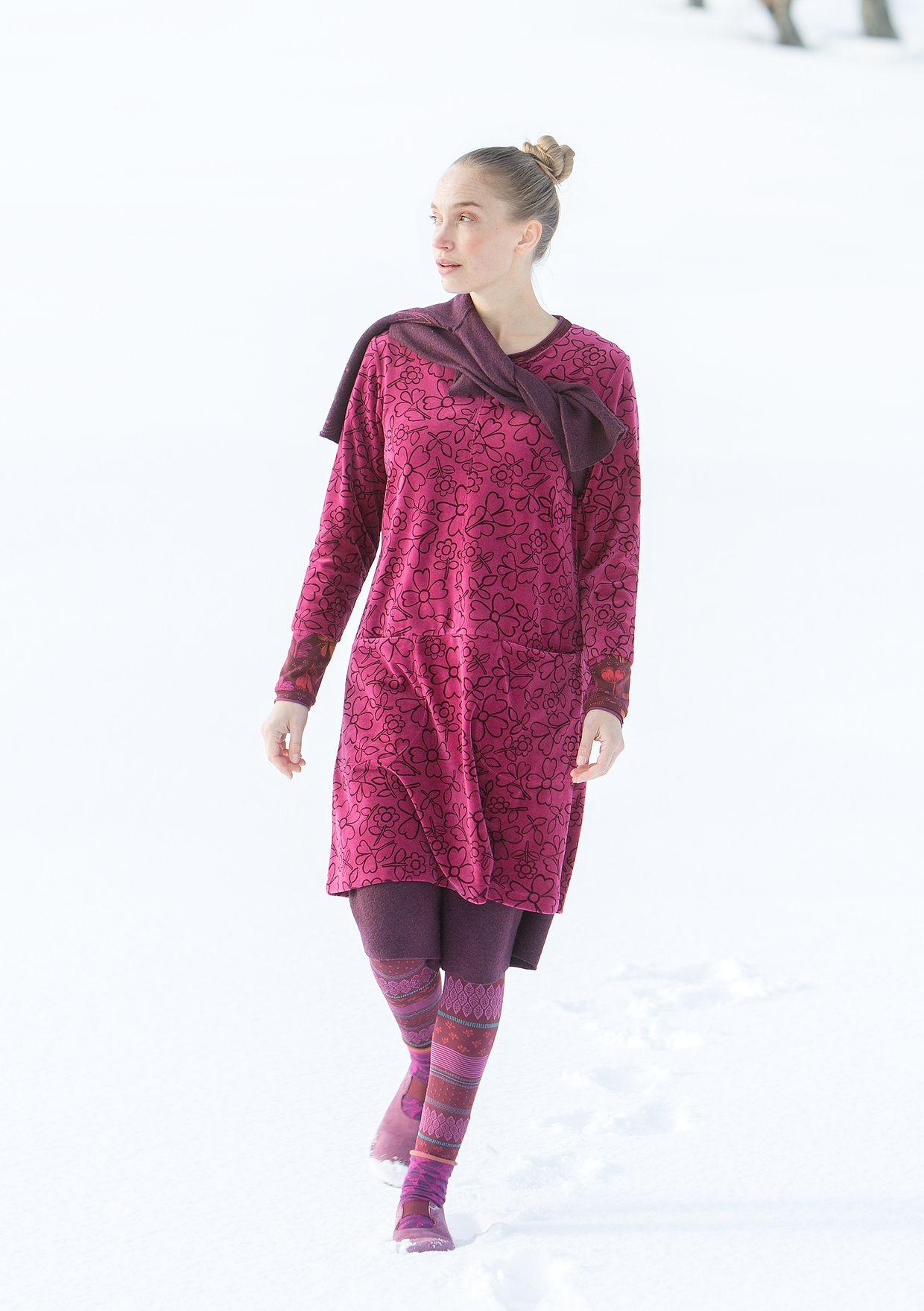 b38c33818f846a Velours jurk