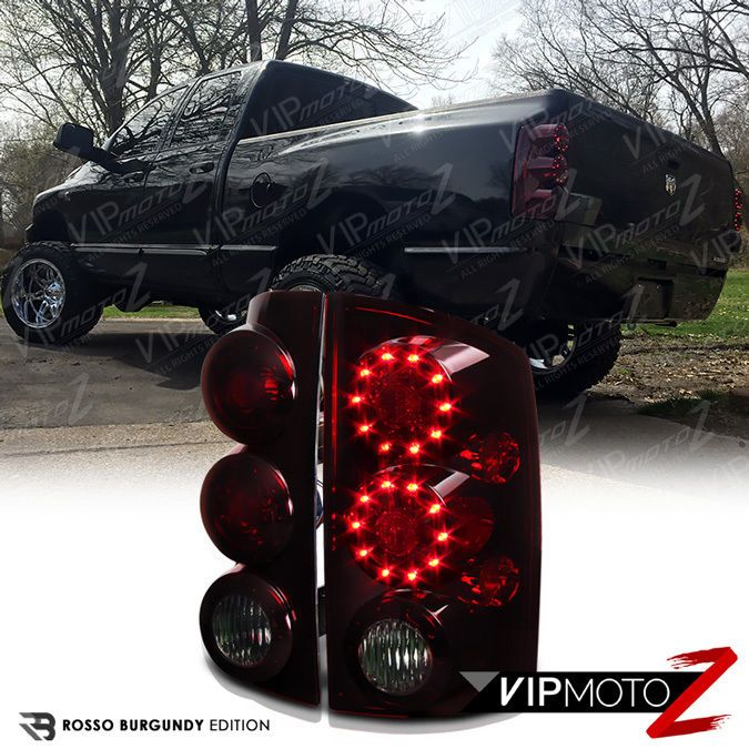 2002 2005 Dodge Ram Smoke Tinted Led Tail Lights Signal Brake Smd Lamps Assembly Dodge Ram Led Tail Lights Ram
