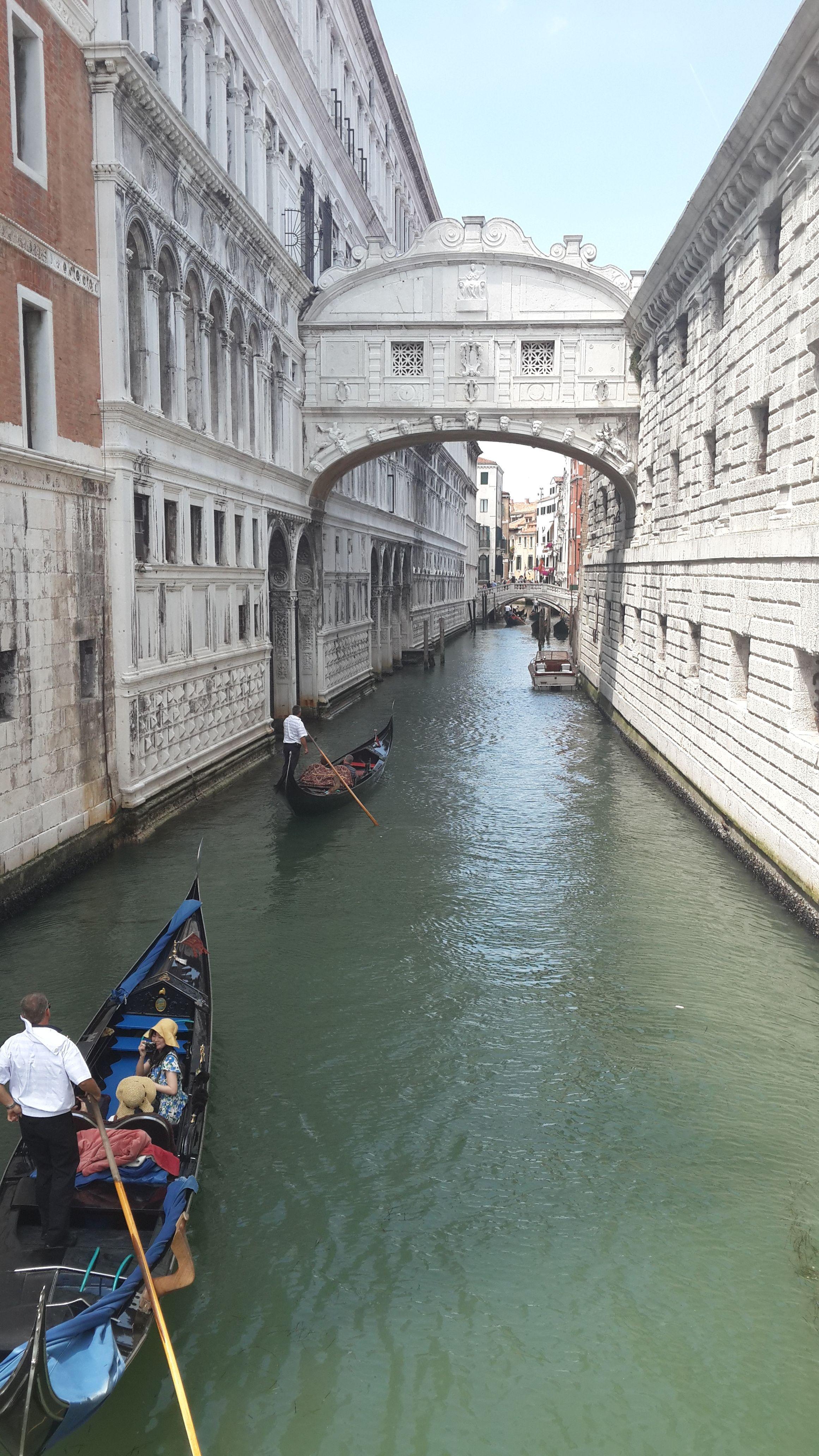 Venecia Italia Puente De Los Suspiros Puente De Los Suspiros Viajes Venecia