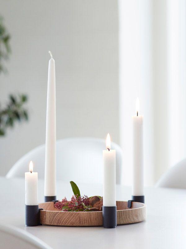 Dekorativer Adventskranz LUNA #adventskranzskandinavisch