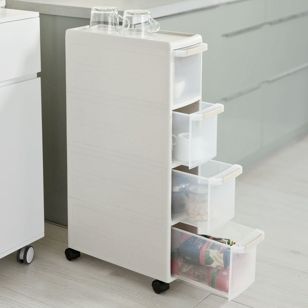 107 Reference Of 4 Drawer Narrow Storage Unit In 2020 Ikea Storage Drawers Plastic Storage Drawers Ikea Storage