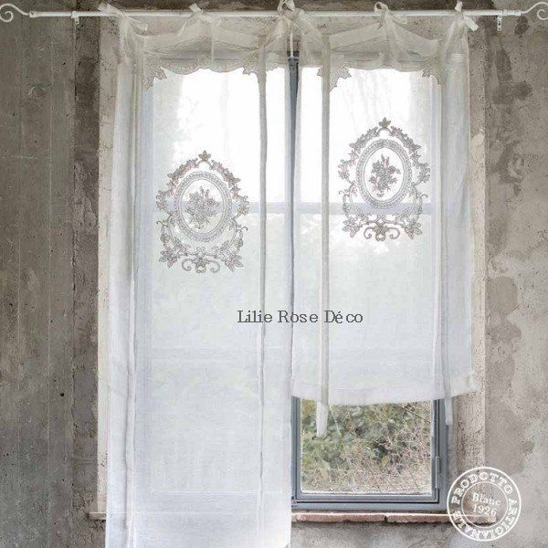 store de charme style shabby chic blanc mariclo rideaux fenetres pinterest shabby chic. Black Bedroom Furniture Sets. Home Design Ideas