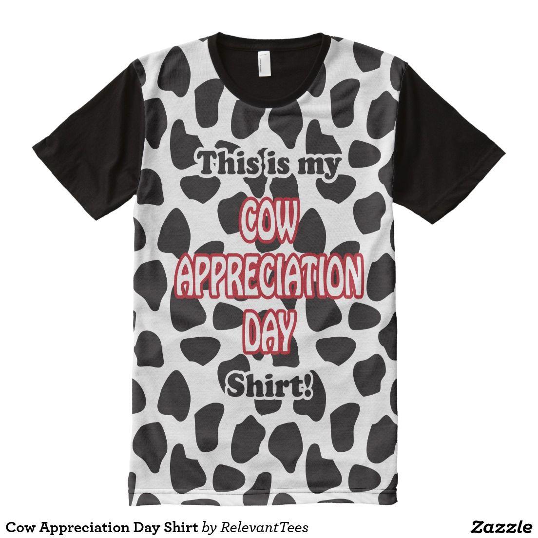 Cow Appreciation Day Shirt Shirts Cow Shirts Cow Appreciation Day