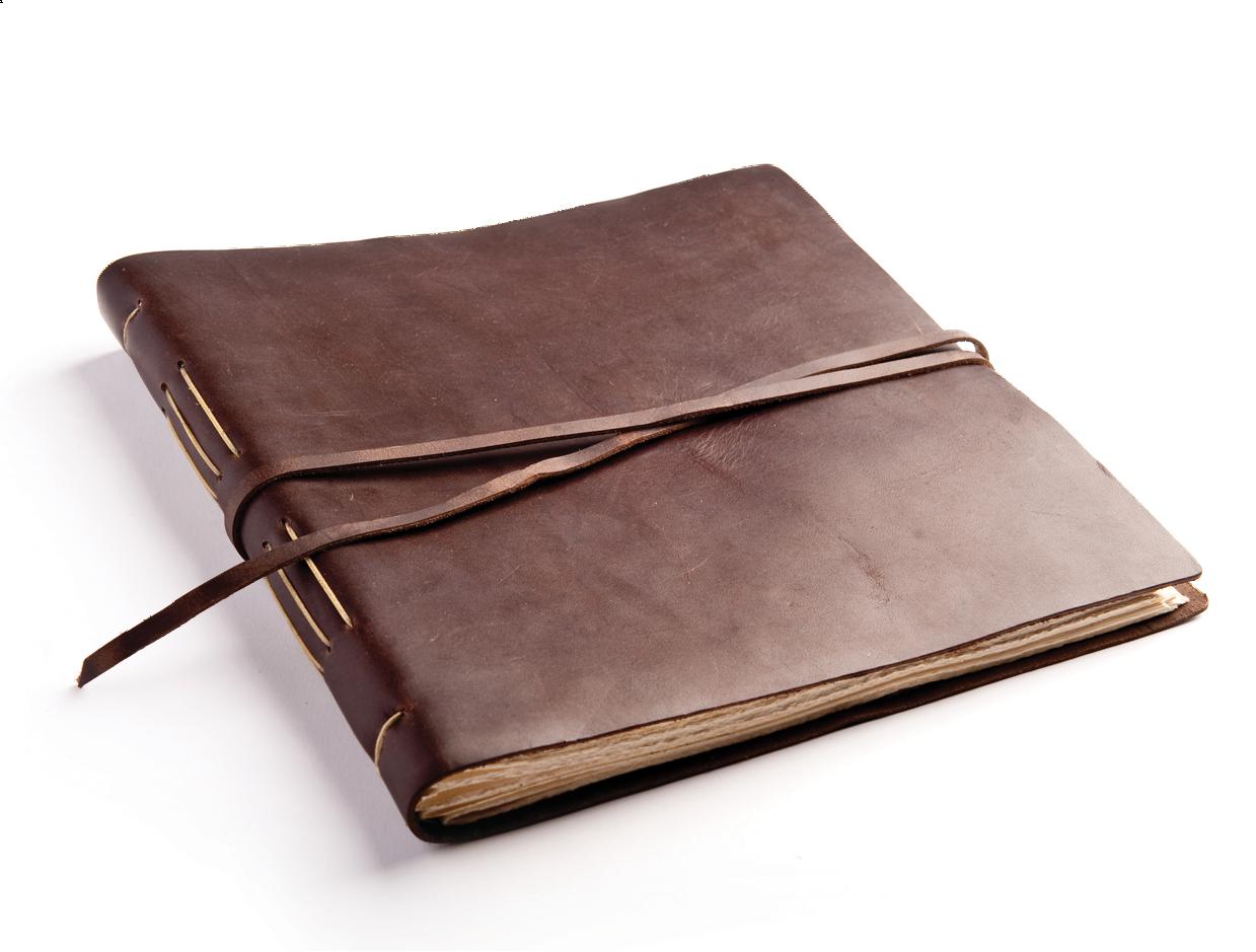 Fair Trade Handmade Extra Large Plain Leather Photo Album 2nd Quality