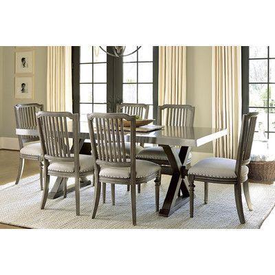 Universal Furniture Berkeley 3 Flatiron Dining Table Table Finish Interesting Universal Furniture Dining Room Set Design Ideas